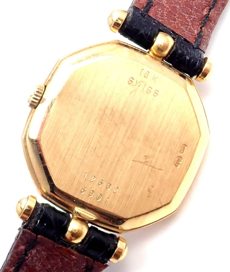 Van Cleef & Arpels Jaeger Lecoultre His And Hers  Set  Gold Wristwatches For Sale 3