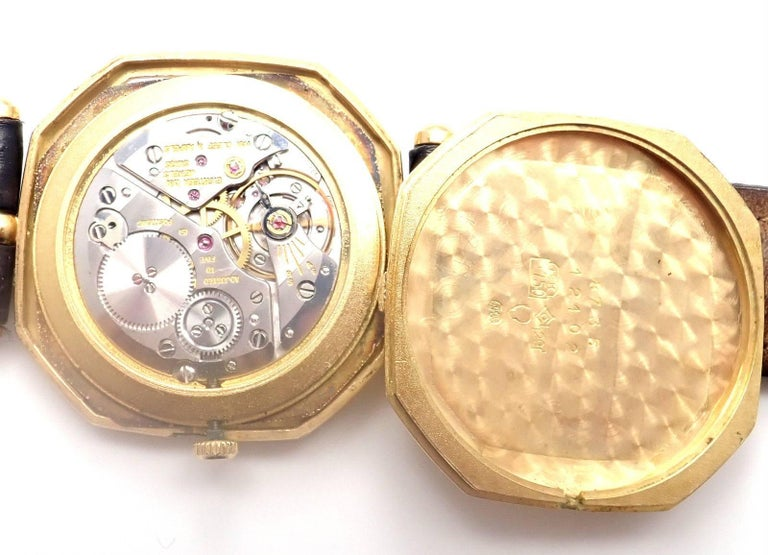 Van Cleef & Arpels Jaeger Lecoultre His And Hers  Set  Gold Wristwatches For Sale 5