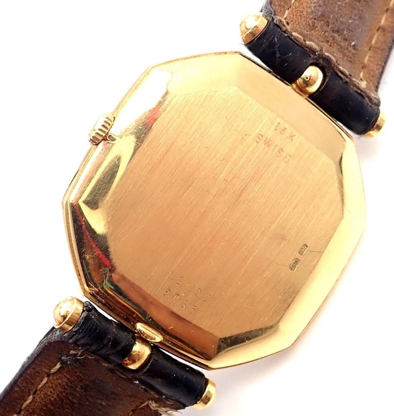 Van Cleef & Arpels Jaeger Lecoultre His And Hers  Set  Gold Wristwatches For Sale 2