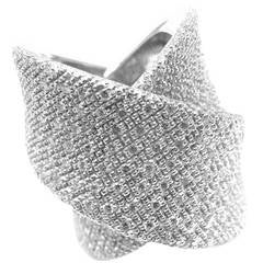 Pasquale Bruni Large Diamond Gold Ring