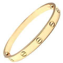 Cartier Gold Love Bangle Bracelet