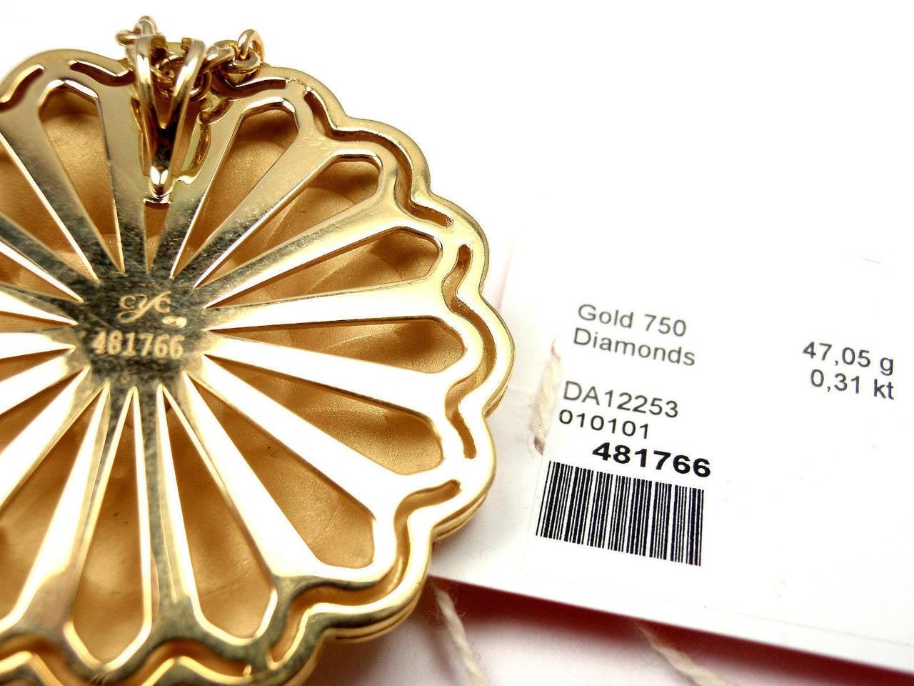 Carrera Y Carrera Afrodita Diamond Gold Necklace For Sale 1