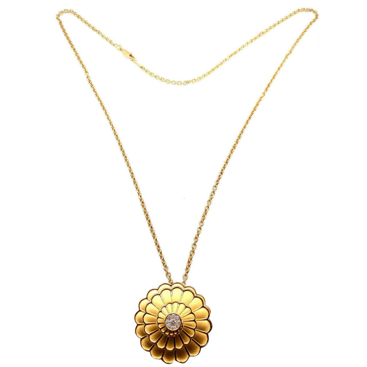 Carrera Y Carrera Afrodita Diamond Gold Necklace