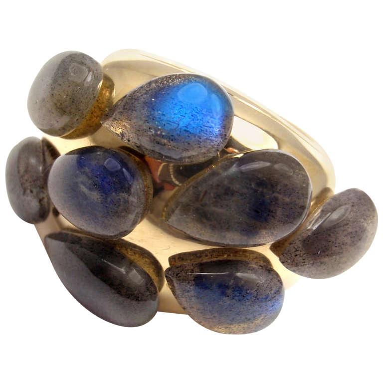 POMELLATO Moonstone Yellow Gold Ring