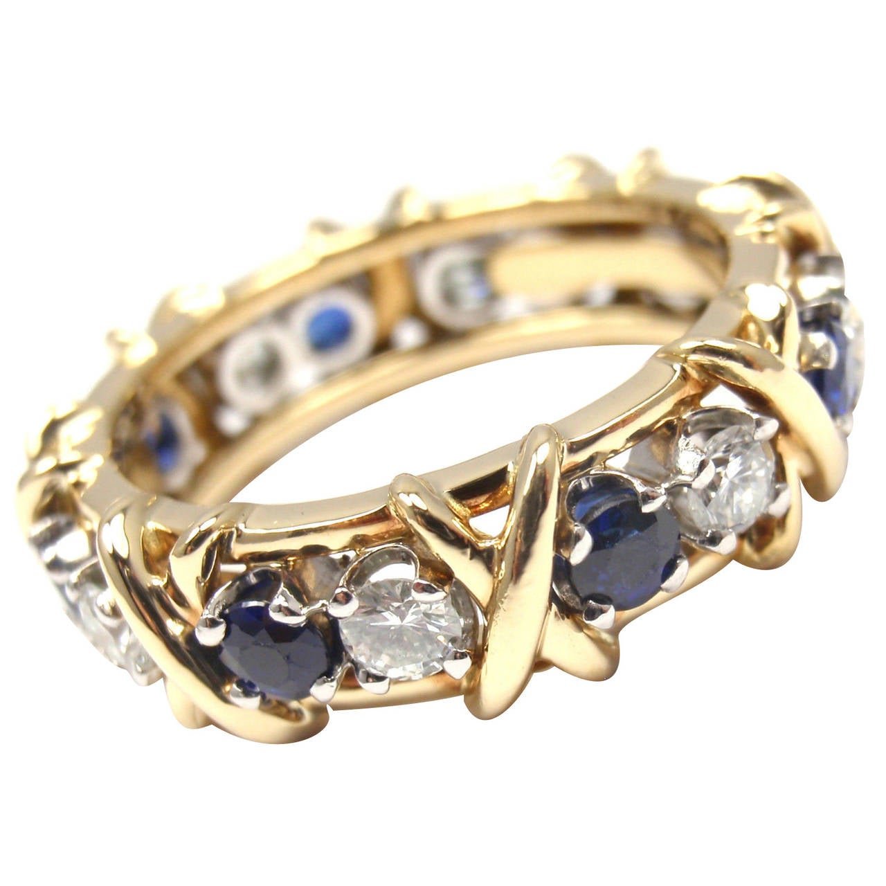 Tiffany And Co Jean Schlumberger Sapphire Diamond