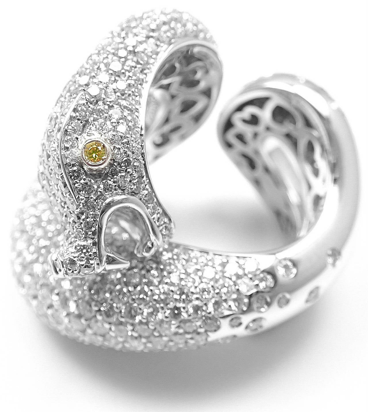 ladies snake ring rings yellow gold diamond lg