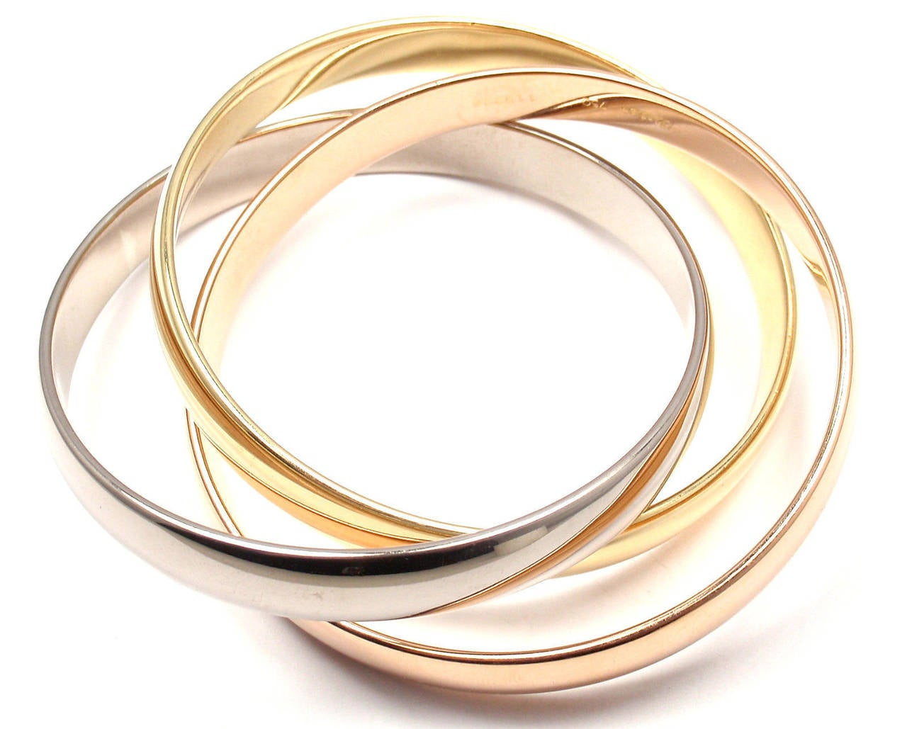 bangle small fullxfull three il and listing brass silver bracelets copper bangles of set large
