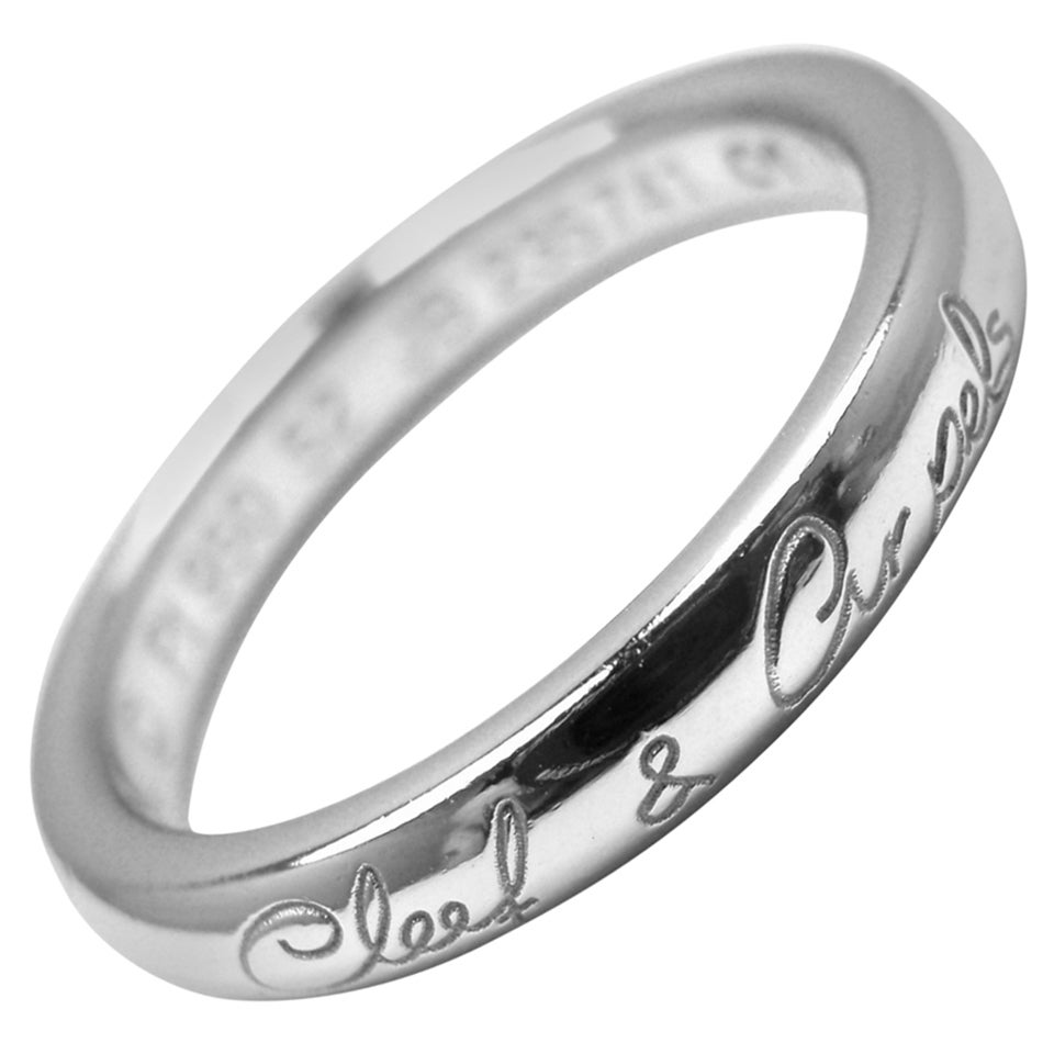 van cleef and arpels toujours wedding platinum band ring With van cleef wedding ring price