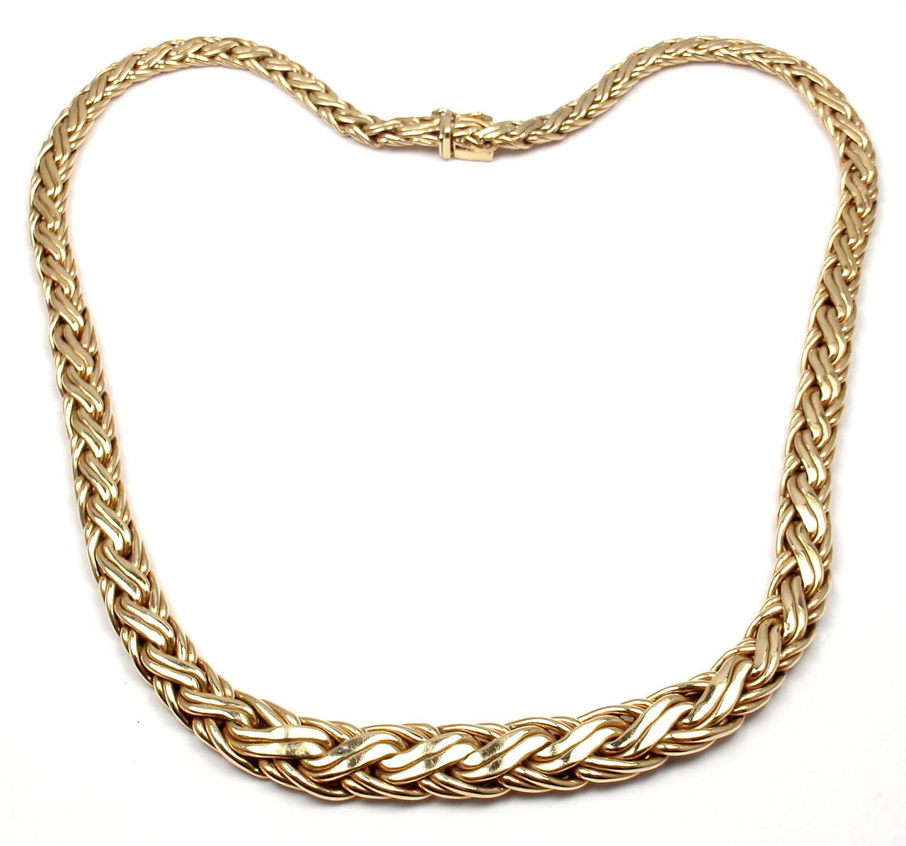 details jewelry necklaces at and co yellow l by length choker j s tiffany basket gold weave necklace id