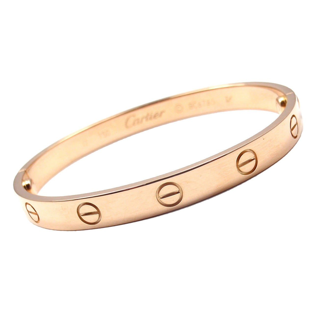 micropave bangles gold rose bangle de beers micropav diamond bracelet