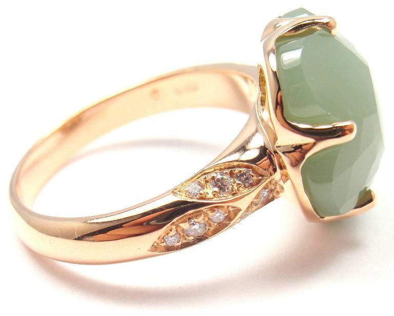 Pasquale Bruni Bon Ton White Quartz & Diamond Ring in 18K Rose Gold xcEqox1bJ
