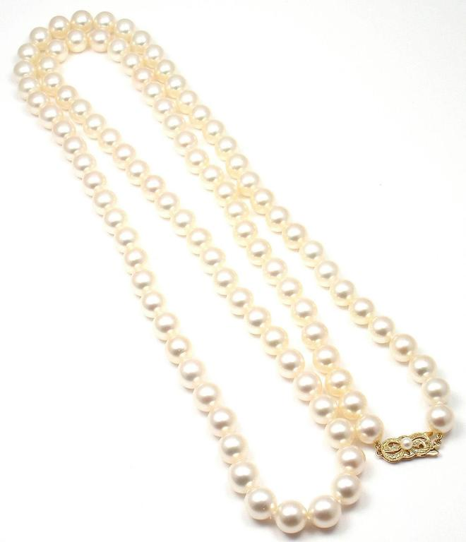 watches product akoya overstock necklace gold cultured shipping jewelry inch pearl miadora yellow free today