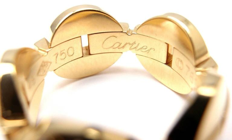 Cartier Himalia Diamond Gold Band Ring 6