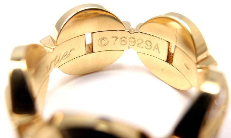 Cartier Himalia Diamond Gold Band Ring 5