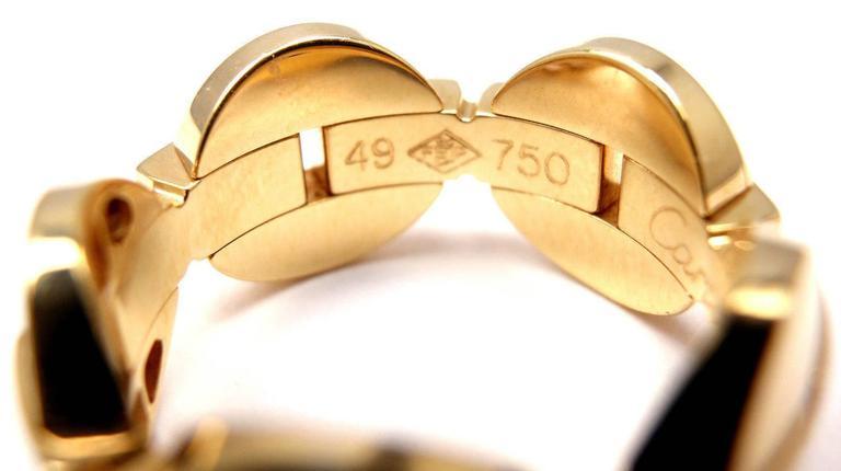 Cartier Himalia Diamond Gold Band Ring 7