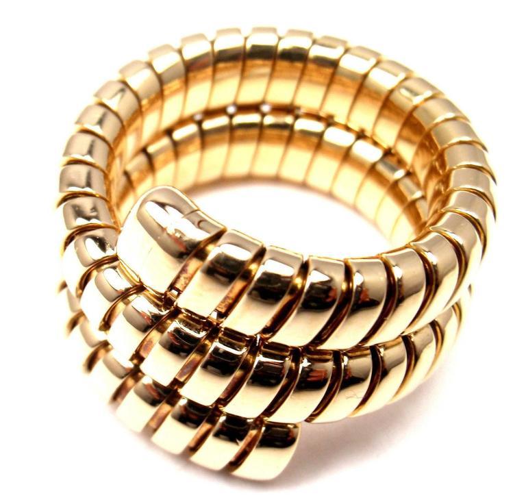 bulgari wrap tubogas gold snake ring 2