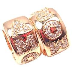 Pasquale Bruni AMORE Diamond Gold Hoop Earrings