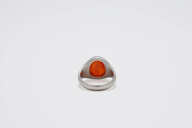 platinum signet ring for sale at 1stdibs