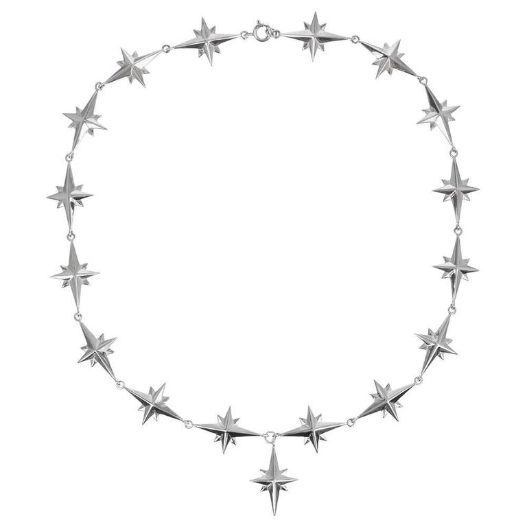 TPL Silver Star Necklace