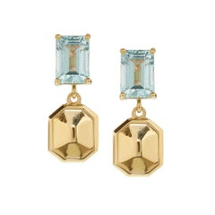 Puzzle Earrings 1 in Gold