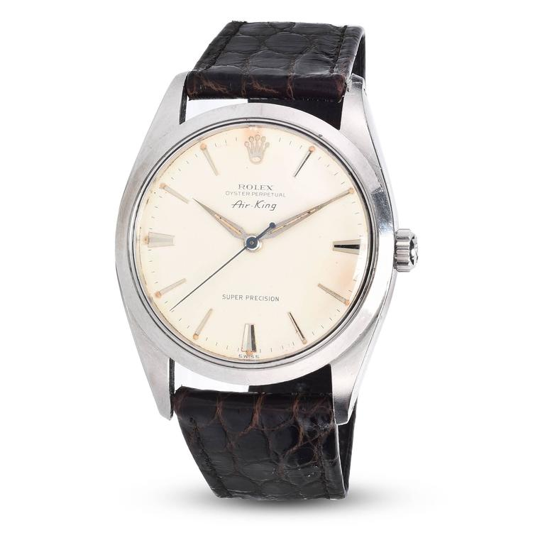 Rolex Stainless Steel Oyster Perpetual Air-King Precision Watch