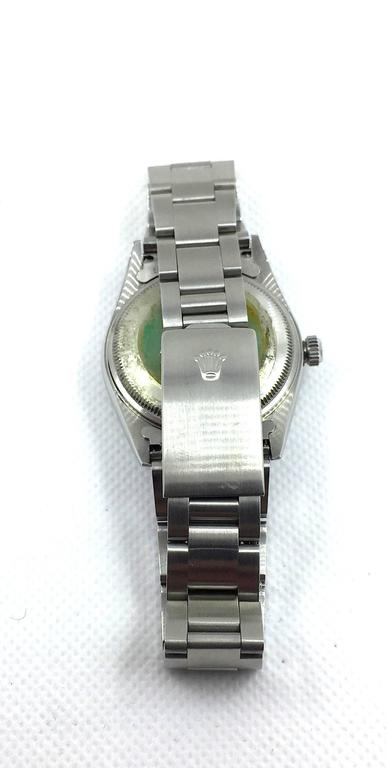Rolex Stainless Steel Oyster Perpetual Air King Automatic Wristwatch 6