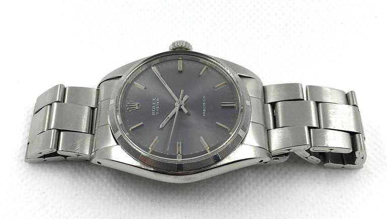 rolex oyster precision manual wind