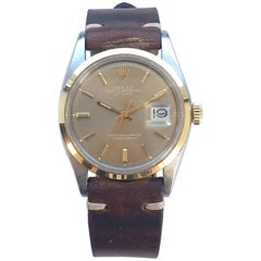 Rolex Two-Tone Oyster Perpetual Datejust Automatic Watch, 1970s