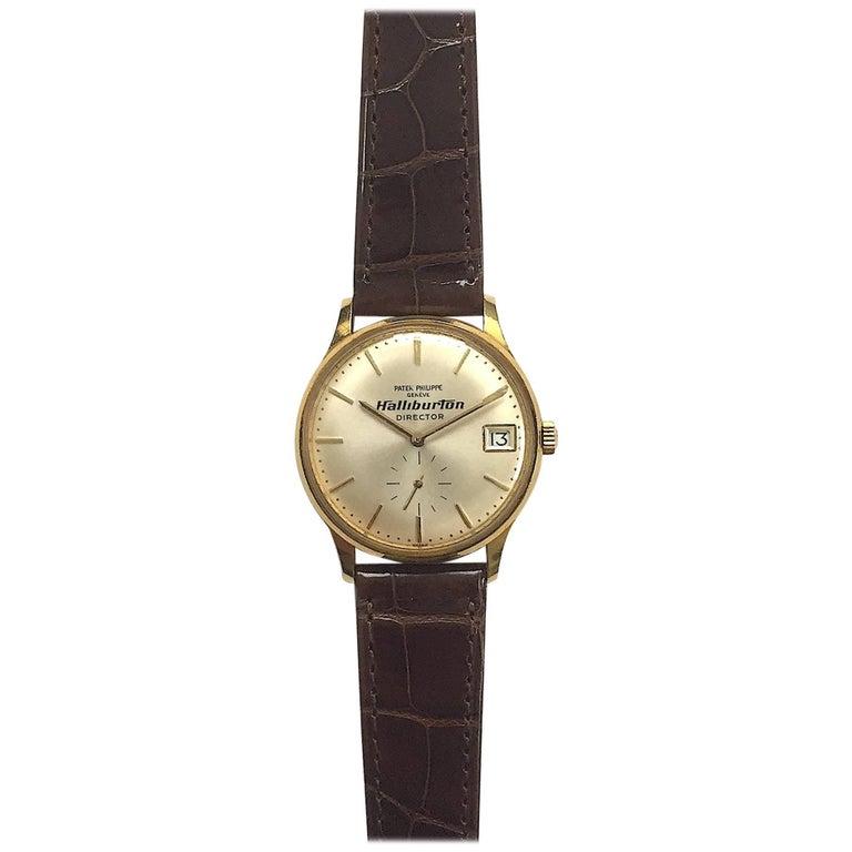 Patek Philippe Yellow Gold Calatrava Automatic Wristwatch Ref 3514