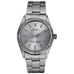 Rolex Stainless Steel Oyster Perpetual Automatic Wristwatch