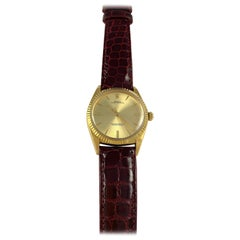 Rolex 18 Karat Yellow Gold Oyster Perpetual Oversize Watch, 1960s