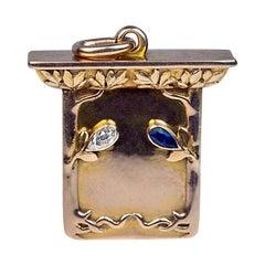 Art Nouveau Antique Russian Locket by Bolin