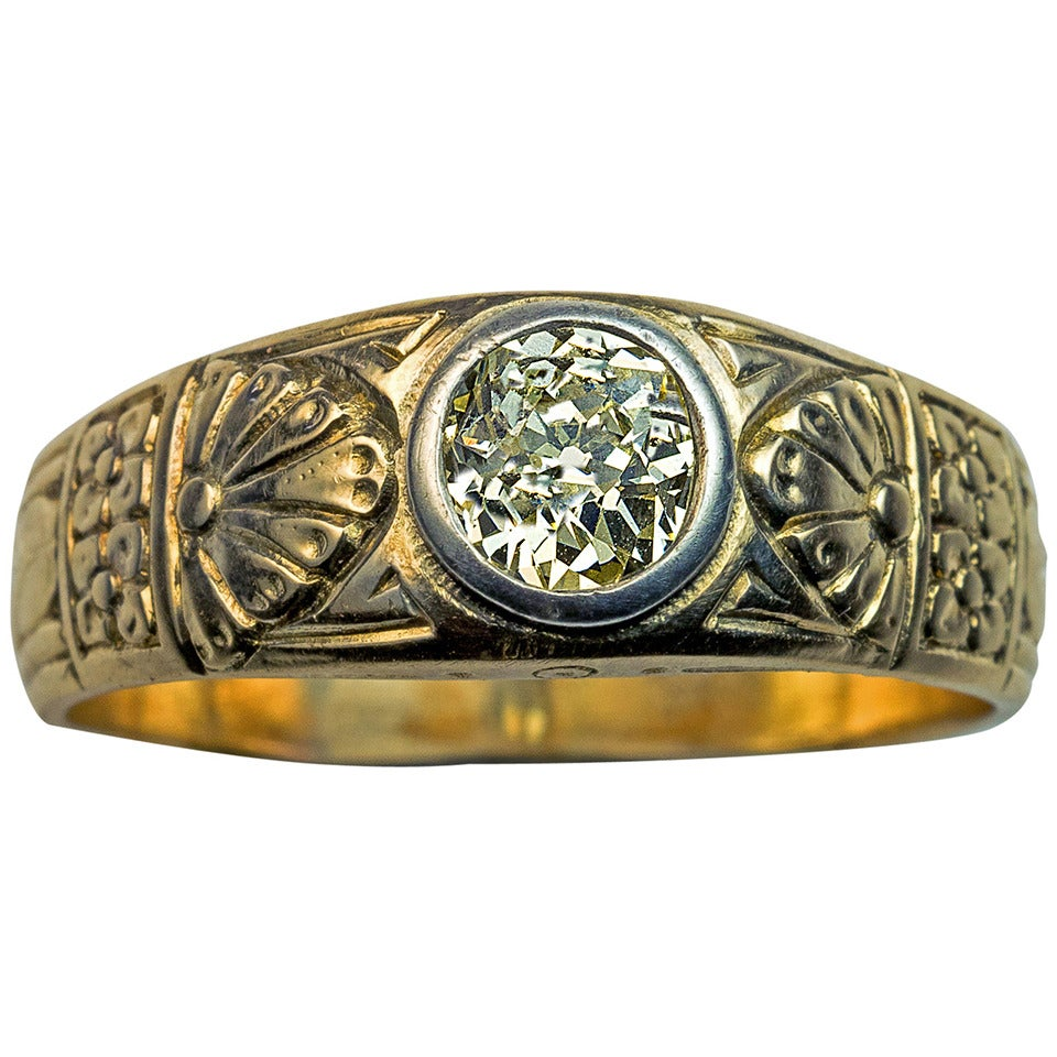 antique fancy color s ring at 1stdibs