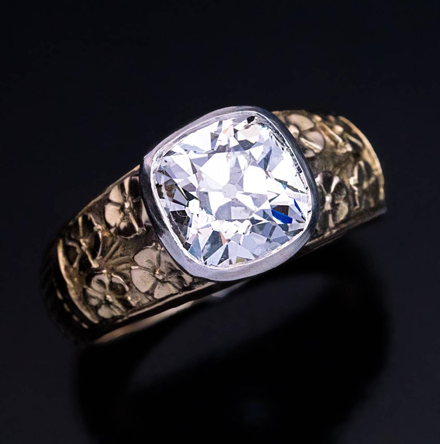 Old Cut Diamond Ring For Sale