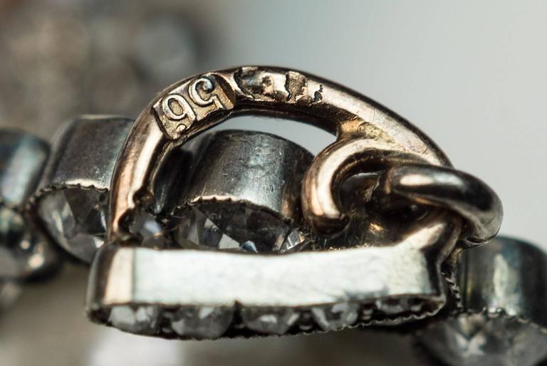 Faberge Antique Natural Pearl Diamond Gold Pendant 9