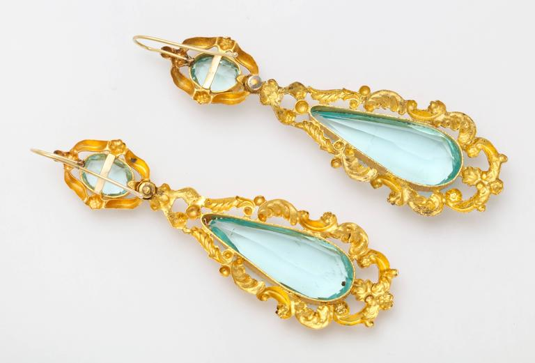 This Pair Of Chandelier Earrings Straight From A 19th Century History Epic Are Ablaze