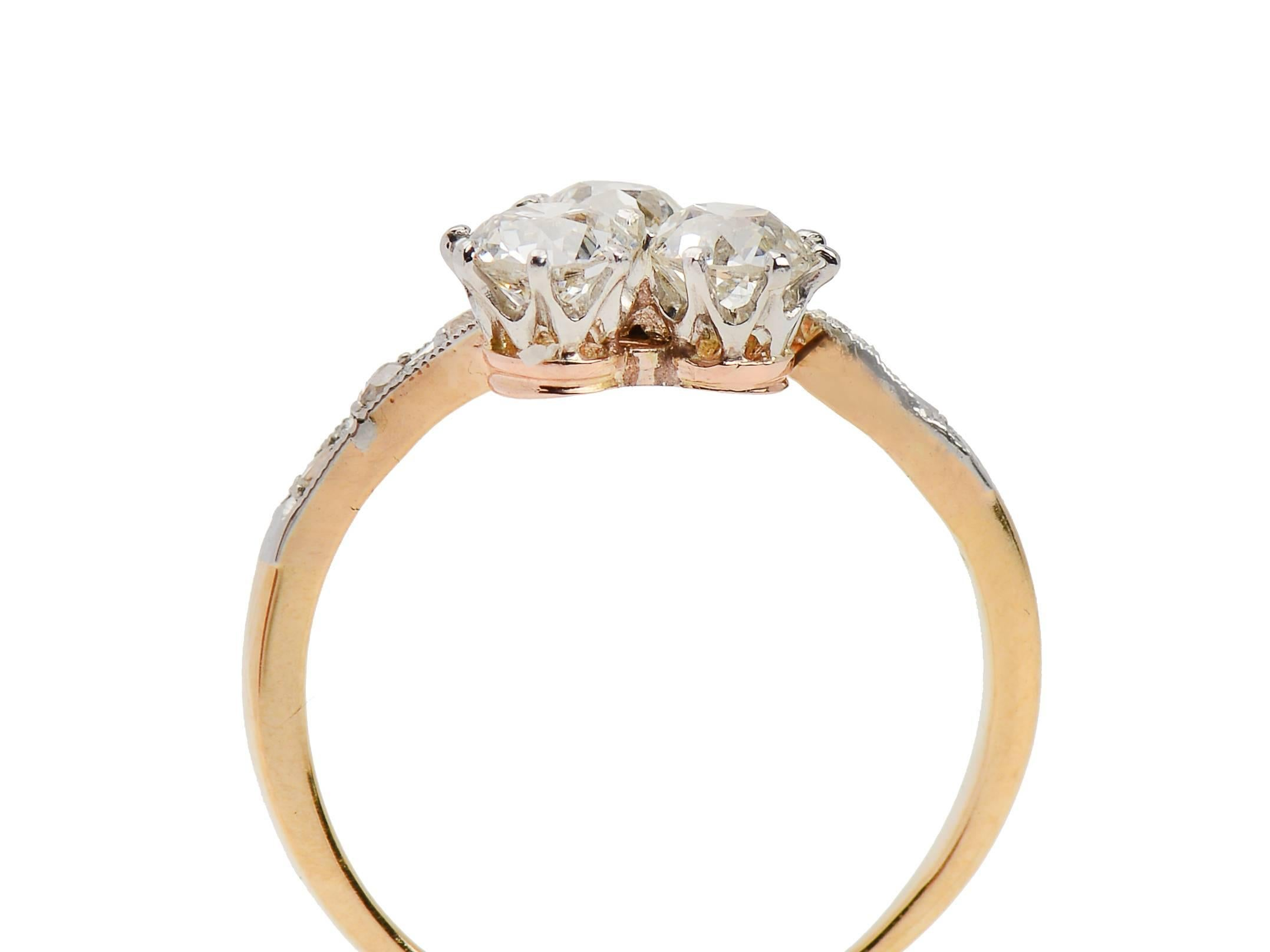 gold moissanite set in engagement products a rings ring setting asymmetrical diamond halo oval rose