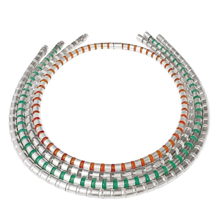 Zimmermann Pearl Chrysoprase Rock Crystal Carnelian Versatile Wrap Necklaces For Sale