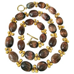 Multi-gemstone Beaded Necklaces