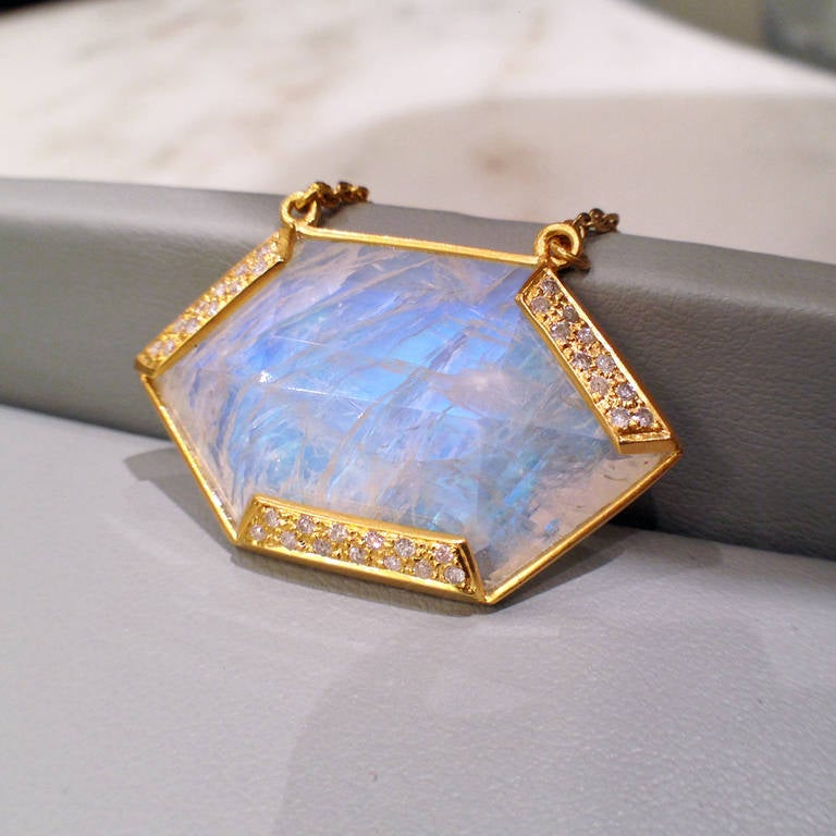 moonstone jewelry gold - photo #3