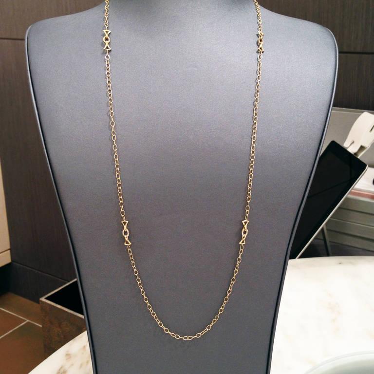 Extraordinary Iridescent Lemon Quartz Mother-of-Pearl Diamond Gold Necklace For Sale 1