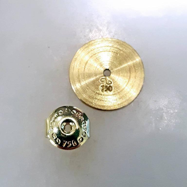 Antonio Bernardo Custom Cut Phantom Quartz Peridot Matte Gold Drop Earrings 5