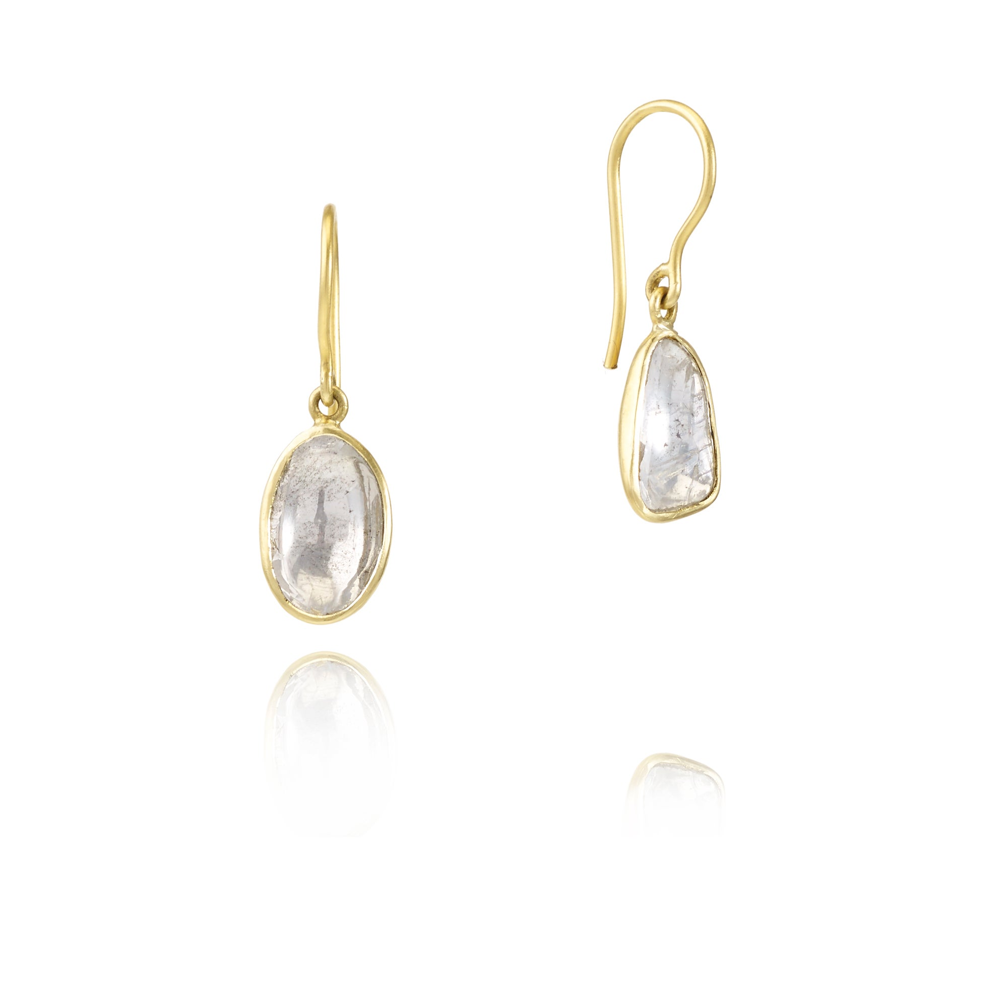 women a gold cz single drop haan s cole in earrings