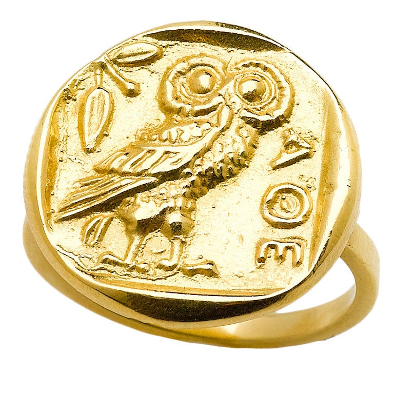 Athena Gold Ring