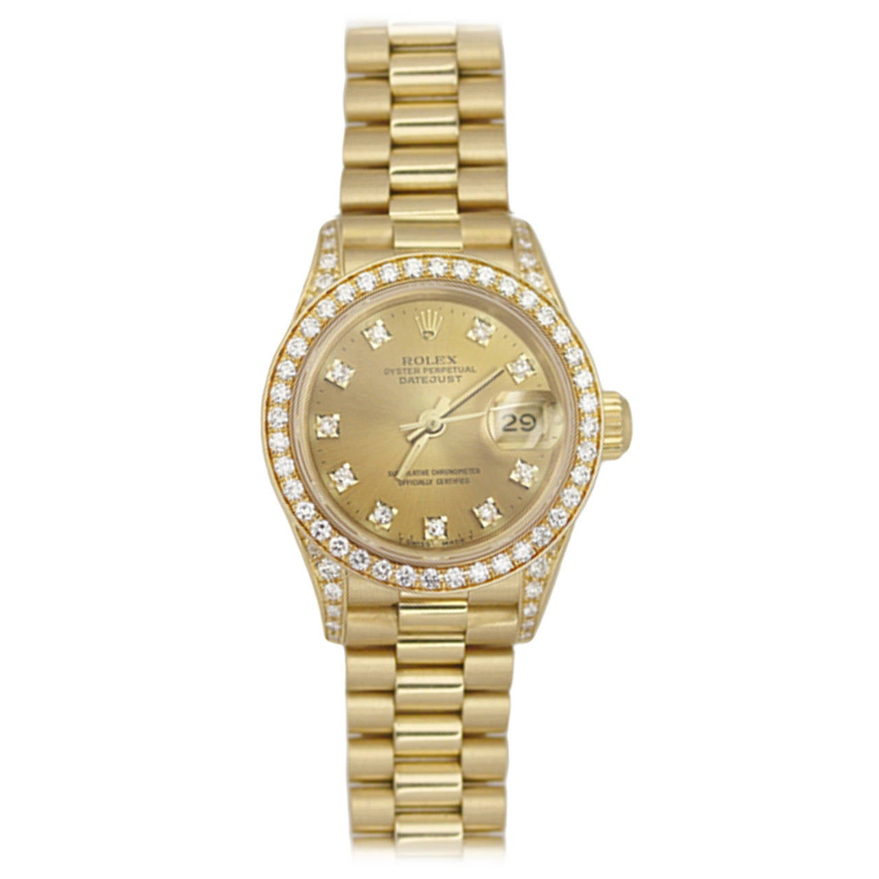 Rolex datejust oyster perpetual women