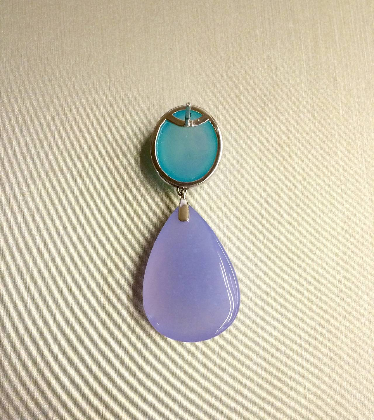 CHALCEDONY Drop Earrings 2