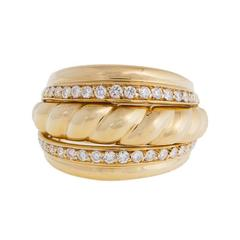 PIAGET Diamond  Yellow Gold Brill Ring