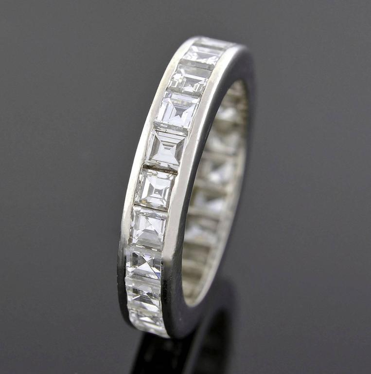 band estate diamonds baguette round set eternity platinum products wedding channel sofie and bands