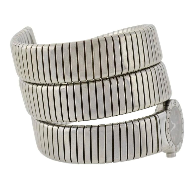 This Fabulous Watch Bracelet Is A Signed Estate Piece By Bvlgari Known As The Quot