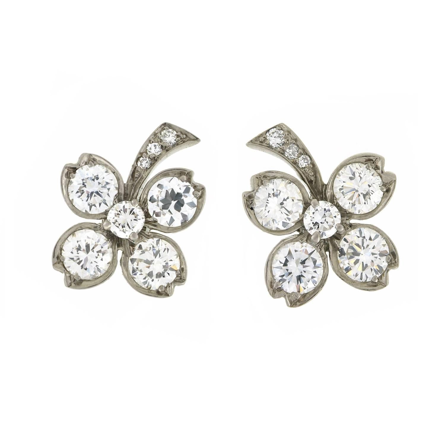 tiffany diamonds earrings img canadian estate product diamond cushion legacy